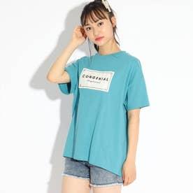 コクーンTシャツ (ライトブルー)
