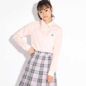 【卒服】シンプルシャツ (ベビーピンク)