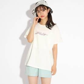 【FILA】ビックTシャツ (オフホワイト)