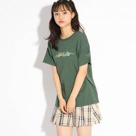 【FILA】ビックTシャツ (グリーン)