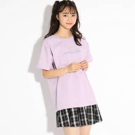【FILA】ビックTシャツ (ライトパープル)