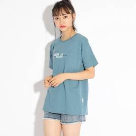 【FILA】ビックTシャツ (ライトブルー)