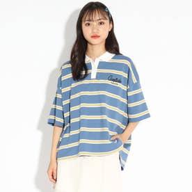【WEB限定】ロゴラガーシャツ (ブルー)