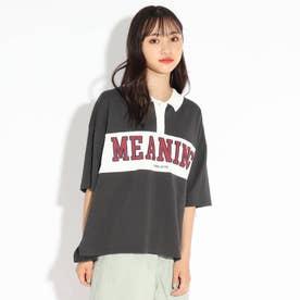 【WEB限定】ロゴラガーシャツ (チャコールグレー)