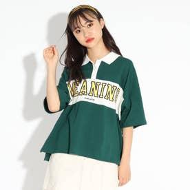 【WEB限定】ロゴラガーシャツ (ダークグリーン)