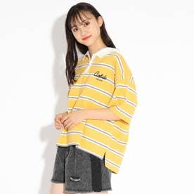 【WEB限定】ロゴラガーシャツ (レモンイエロー)