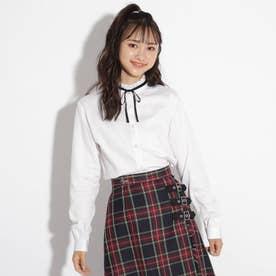 【卒服】ボウタイシャツ (オフホワイト)