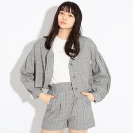 【WEB限定サイズ140㎝あり】開襟シャツ+ロンTセット (グレー)