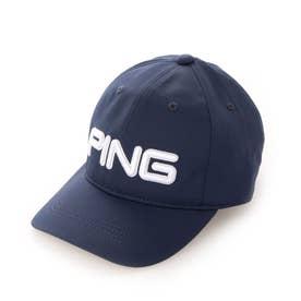 メンズ ゴルフ キャップ HW-U207 TOUR CAP 35344-02 (ネイビー)