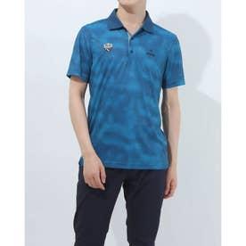 メンズ ゴルフ 半袖シャツ SSタイダイポロシャツ 6211160003 (ネイビー)