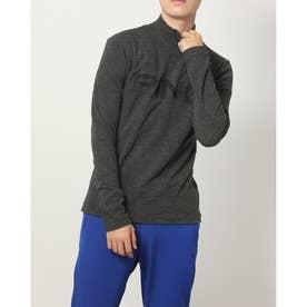 メンズ ゴルフ 長袖シャツ PINGビッグロゴハイネックシャツ 6211269003 (ブラック)