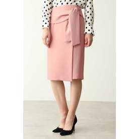 ラップリボンタイトスカート ピンク