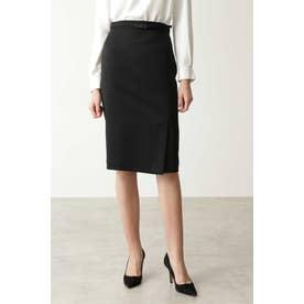 ウールセットアップスカート ブラック