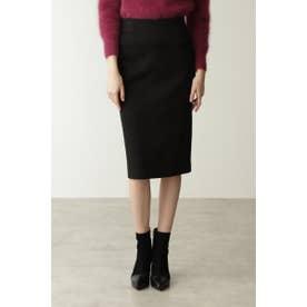 ◆ウォームポンチタイトスカート ブラック