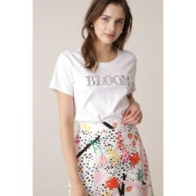 ◆BLOOMビジューロゴTシャツ ホワイト