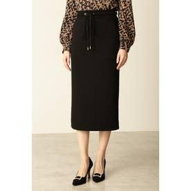 ◆ダンボールニットスカート ブラック