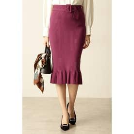 ◆リブニットセットアップスカート カシス5