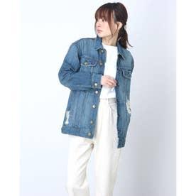 【CURRENT ELLIOTT】デニムジャケット (ブルー)