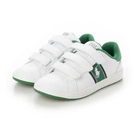 スニーカー (White/Green)
