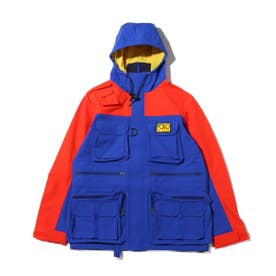3L ANORAK-LINED-JACKET (ROYAL)