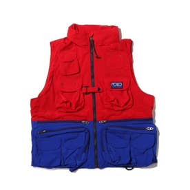 HI TECH VEST-LINED-VES (RED)