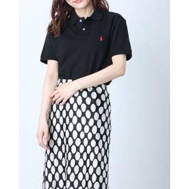 カスタム スリム-フィット ポロシャツ (BLACK)