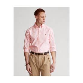 カスタムフィット ボタンダウン オックスフォードシャツ (PINK)