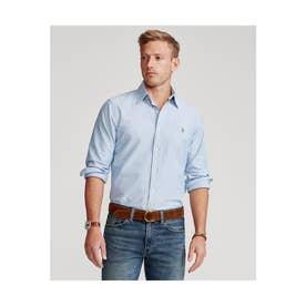 カスタムフィット ボタンダウン オックスフォードシャツ (BLUE)