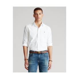カスタムフィット ボタンダウン オックスフォードシャツ (WHITE)