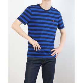 カスタムスリムフィット Tシャツ (BLUE)