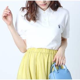 カスタム スリム-フィット ポロシャツ (WHITE)