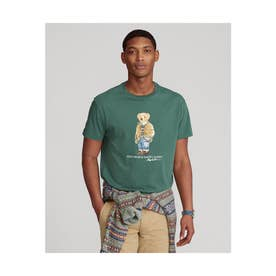 カスタム スリム フィット ベア Tシャツ (GREEN)