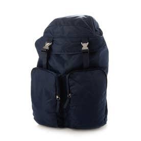 Nylon Backpack (Navy)