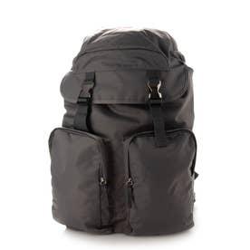 Nylon Backpack (Gray)