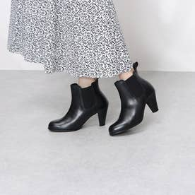 Leather Side Goa Ankle Boots (Black)