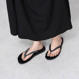 Beach Mouton Sandal (Black)