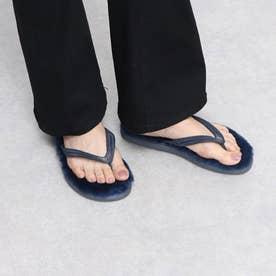 Beach Mouton Sandal (Navy)