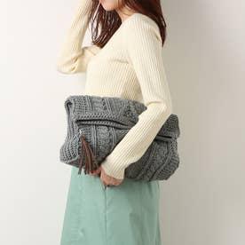 Knit Clutch Bag (H.Gray)