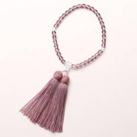 【Prendre la joie】喪服・礼服用 新紫水晶念珠(数珠) 日本製(パープル)