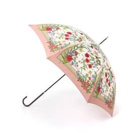 スカーフパターンアンブレラ ピンク