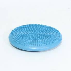 バランスヨガクッション空気入れ付ブルー (BLUE)