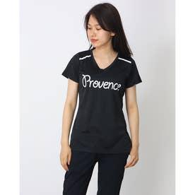 PROVENCE ブリスターメッシュTシャツ (BLACK)