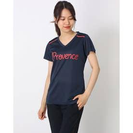 PROVENCE ブリスターメッシュTシャツ (NAVY)