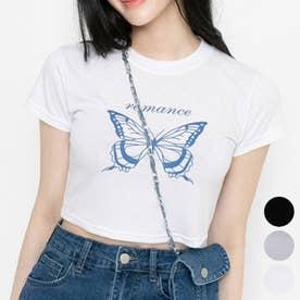 RomanceバタフライTシャツ (Ivory)