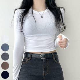 アームウォームクロップドTシャツ (Ivory)