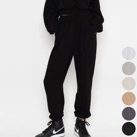 ハイウエストジョガーパンツ (Black)