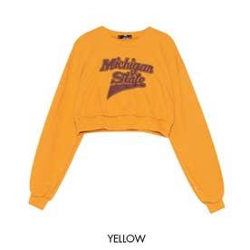 Michiganクロップドトレーナー (Yellow)