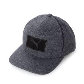 メンズ ゴルフ キャップ 021991 (ブラック)