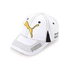 メンズ ゴルフ キャップ 866562 (ホワイト)