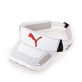 メンズ ゴルフ サンバイザー 866567 (ホワイト)
